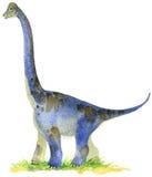 Dinosaur animal illustration. Dinosaur. Dinosaur Watercolor drawing. Dinosaur illustration. Cartoon dinosaur vector illustration