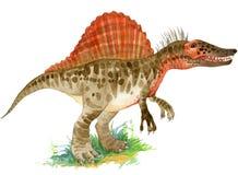 Dinosaur animal illustration. royalty free illustration