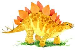 Dinosaur animal illustration. Royalty Free Stock Photography