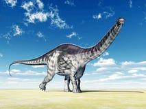 Dinosaur Apatosaurus Royalty Free Stock Photo