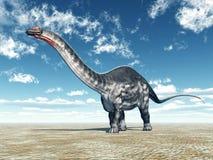Dinosaur Apatosaurus Royalty Free Stock Photos