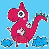 Dinosaur Baby Stock Images