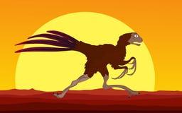 Dinosaur background Stock Images