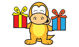 Dinosaur Birthday Royalty Free Stock Images