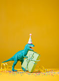 Dinosaur Birthday Party Royalty Free Stock Photography