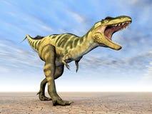 Dinosaur Bistahieversor Royalty Free Stock Photos