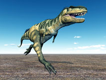 Dinosaur Bistahieversor Royalty Free Stock Image