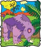 Dinosaur Brontoterio Stock Images