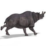 Dinosaur Brontotherium Stock Image