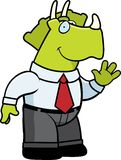 Dinosaur Businessman Stock Images