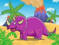 Dinosaur cartoon Royalty Free Stock Image