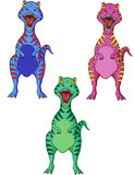 Dinosaur cartoon Royalty Free Stock Images