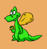 Dinosaur cartoon Stock Photography