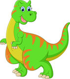 Dinosaur cartoon Stock Images