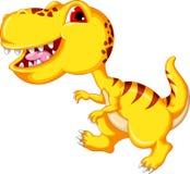 Dinosaur cartoon isolated Royalty Free Stock Image