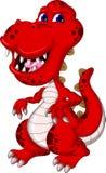 Dinosaur cartoon isolated Royalty Free Stock Photography