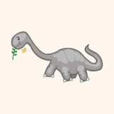 Dinosaur cartoon theme elements vector,eps Stock Photography