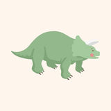 Dinosaur cartoon theme elements vector,eps Royalty Free Stock Images
