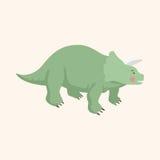 Dinosaur cartoon theme elements vector,eps. Vector illustration file Royalty Free Stock Images