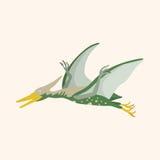 Dinosaur cartoon theme elements vector,eps. Vector illustration file Stock Photos