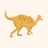 Dinosaur cartoon theme elements vector,eps Royalty Free Stock Photos