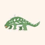 Dinosaur cartoon theme elements vector,eps Stock Photos