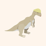 Dinosaur cartoon theme elements vector,eps Royalty Free Stock Photography