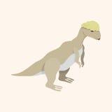 Dinosaur cartoon theme elements vector,eps. Vector illustration file Royalty Free Stock Photography