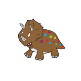 Dinosaur cartoon Stock Images