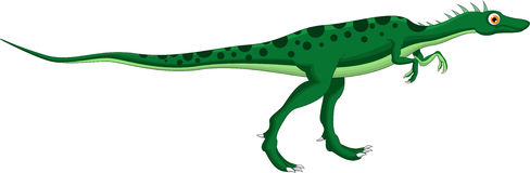 Dinosaur cartoon for you design Royalty Free Stock Images