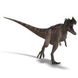 Dinosaur Ceratosaurus royalty free illustration