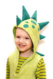 Dinosaur child Stock Image