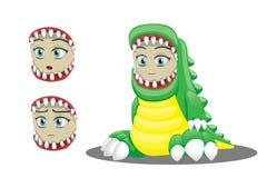 Dinosaur Child Clothing Cartoon Vector Illustration Royalty Free Stock Photos