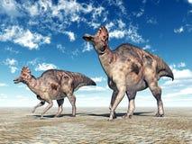 Dinosaur Corythosaurus Royalty Free Stock Photos