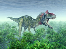 Dinosaur Cryolophosaurus Royalty Free Stock Photo