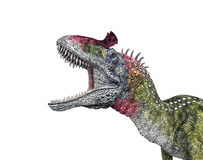 Dinosaur Cryolophosaurus Royalty Free Stock Photos