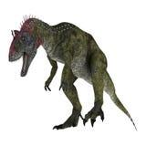 Dinosaur Cryolophosaurus Stock Photos