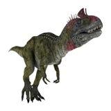 Dinosaur Cryolophosaurus Stock Photo