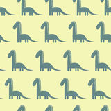 Dinosaur cute pattern Royalty Free Stock Photography