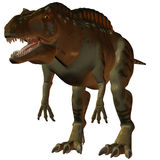 Dinosaur d'Acrocanthosaurus-3D Images stock
