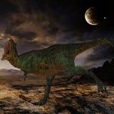 Dinosaur d'Aucasaurus-3D Photo stock