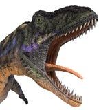 dinosaur d'aucasaurus Photos stock