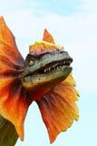 Dinosaur de Dilophosaurus Photos libres de droits