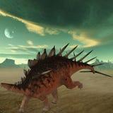 Dinosaur de Kentrosaurus-3D Images stock