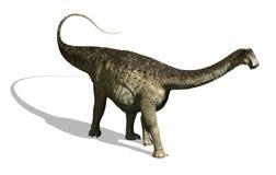 Dinosaur de Nigersaurus illustration stock