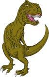 Dinosaur de T-rex Photo stock