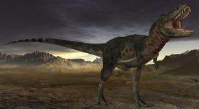 Dinosaur de Tarbosaurus Bataar-3D Image libre de droits