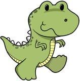 Dinosaur de vecteur Photographie stock