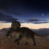 Dinosaur de Zuniceratops-3D Image stock