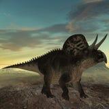Dinosaur de Zuniceratops-3D Photographie stock